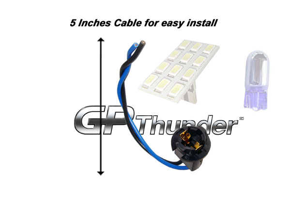 t10 168 194 2825 wiring harness sockets hid lights usa all connectors has differces color wires for easy installation if bulb doesn t light up please rotate the bulb 180 degree and reinsert again