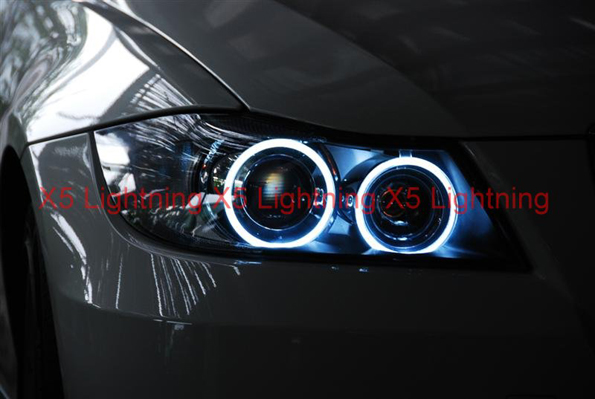 Bmw Halo Angel Eyes Hyper White Led Bulbs Hid Lights Usa