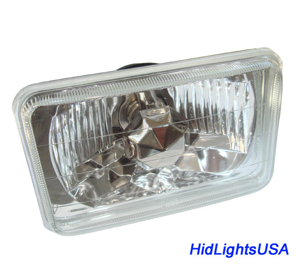 H4656 6 By 4 Rectangle Headlamp H4 Conversion Hid Lights Usa