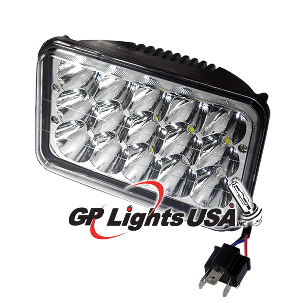 H4651/H466 4x6 inches HeadLamp 45w LED Conversion - Hid Lights USA on